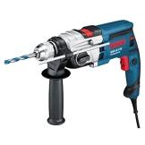 Bosch Professional Schlagbohrmaschine GSB 19-2 RE , 2-Gang, 13 mm Schnellspannbohrfutter, Tiefenanschlag, Zusatzhandgriff, 850 W, Koffer - 1